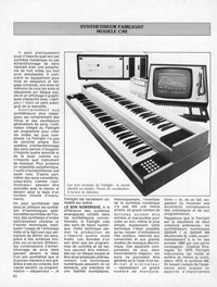 Claviers Magazine 1982