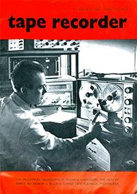 Tape Recorder - Fév. 1966